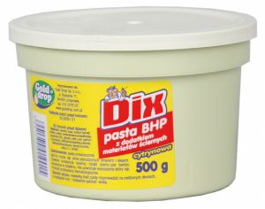 DIX <br /> Pasta BHP z dodatkiem materiałów ściernych