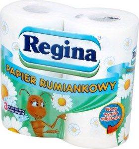 REGINA <br /> Rumiankowa papier toaletowy