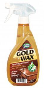 GOLD WAX<br /> Preparat do pielęgnacji mebli z rozpylaczem