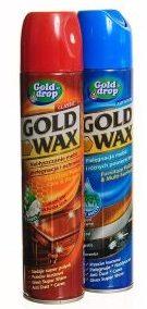 GOLD WAX <br /> Preparat do pielęgnacji mebli w aerozolu