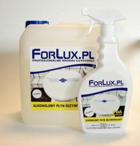 Forlux PD 13 <br /> Preparat do dezynfekcji i mycia wszelkich powierzchni zmywalnych