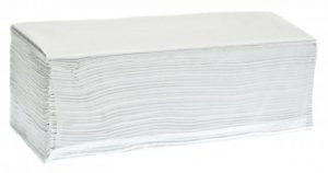 Ręcznik składany Z-Z makulatura biały