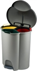 Kosz do segregacji odpadów