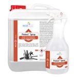 Protect Spray <br /> Preparat do mycia i szybkiej dezynfekcji powierzchni i sprzętu