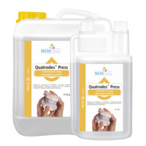 Quatrodes Press <br /> Koncentrat do mycia i dezynfekcji wycisków