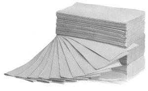 Ręcznik składany Z-Z makulatura szary