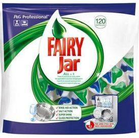 FAIRY JAR <br /> Tabletki do zmywarek