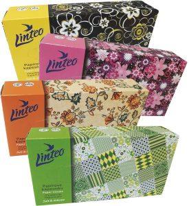 Chusteczki higieniczne w kartoniku