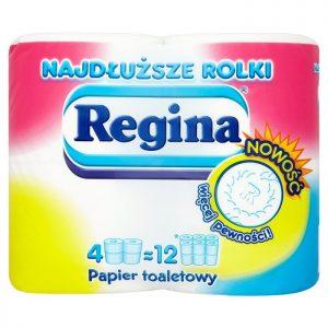 REGINA <br /> Papier toaletowy najdłuższe rolki
