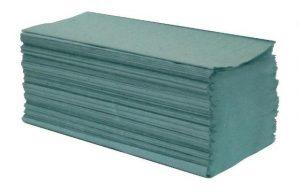 Ręcznik składany Z-Z makulatura zielony