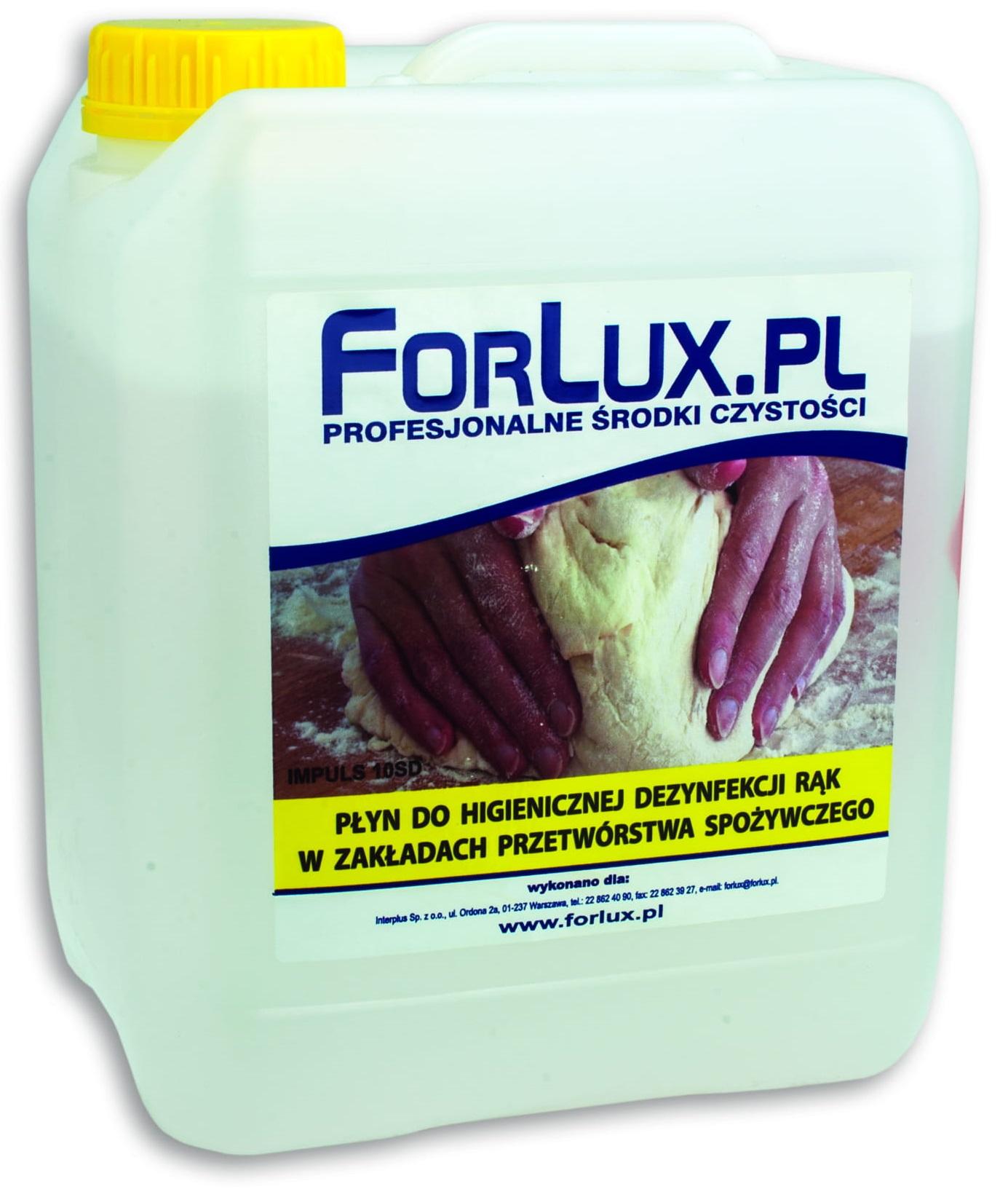 FORLUX RDS <br /> płyn do dezynfekcji rąk