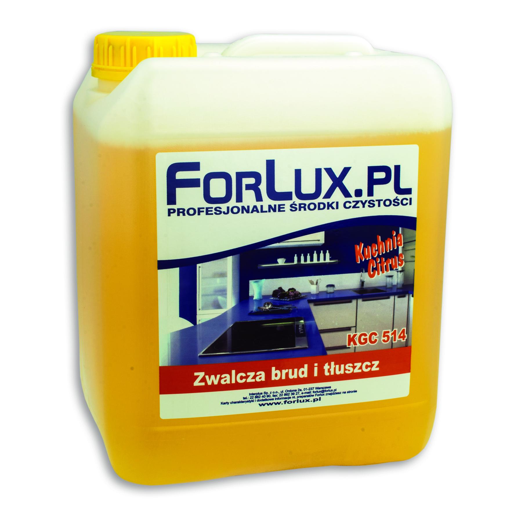 FORLUX KGC 14 Gruntowne mycie kuchni