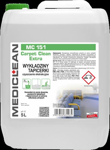MEDICLEAN MC 150 Carpet Clean EXTRA Wykładziny i tapicerki - pranie ekstrakcyjne