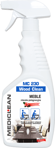 MEDICLEAN MC 230 Wood Clean Mleczko do mebli