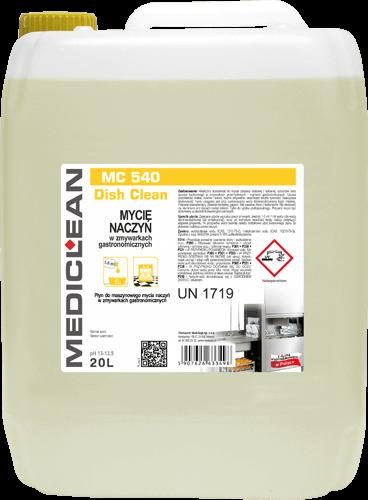 MEDICLEAN MC 540 Dish Clean Mycie naczyń w zmywarkach gastronomicznych