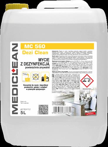 MEDICLEAN MC 560 Dezi Clean Mycie z dezynfekcją