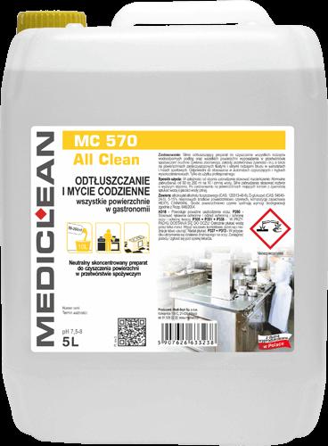 MEDICLEAN MC 570 All Clean Odtłuszczacz