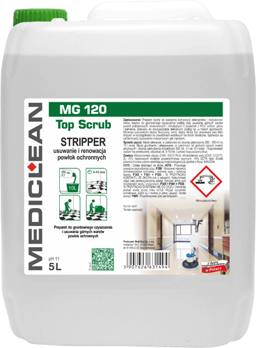 MEDICLEAN MG 120 Top Scrub Stripper