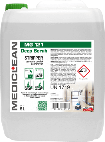 MEDICLEAN MG 121 Deep Scrub Stripper