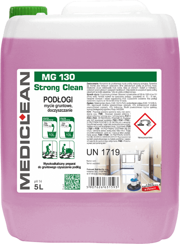 MEDICLEAN MG 130 Stron Clean Podłogi - gruntowne czyszczenie
