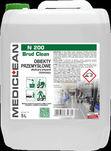 Medicelan N 200 Brud Clean Czyszczenie podłóg przemysłowych