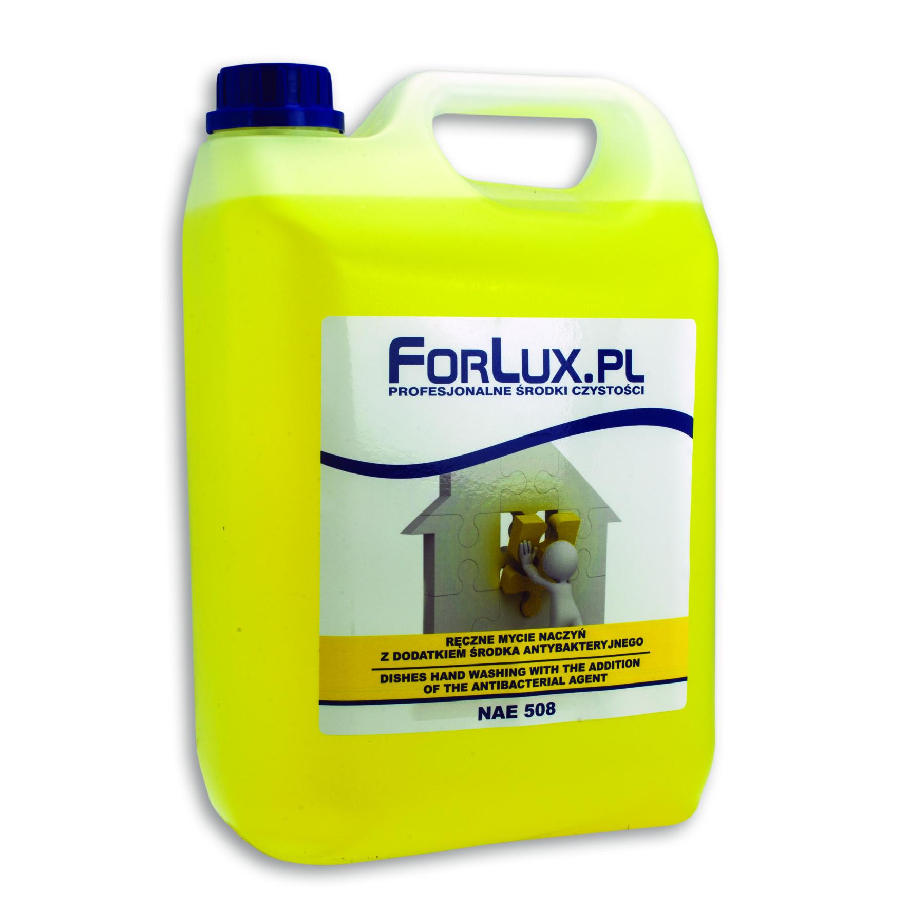 FORLUX NAE 08 Preparat do mycia naczyń ze środkiem antybakteryjnym