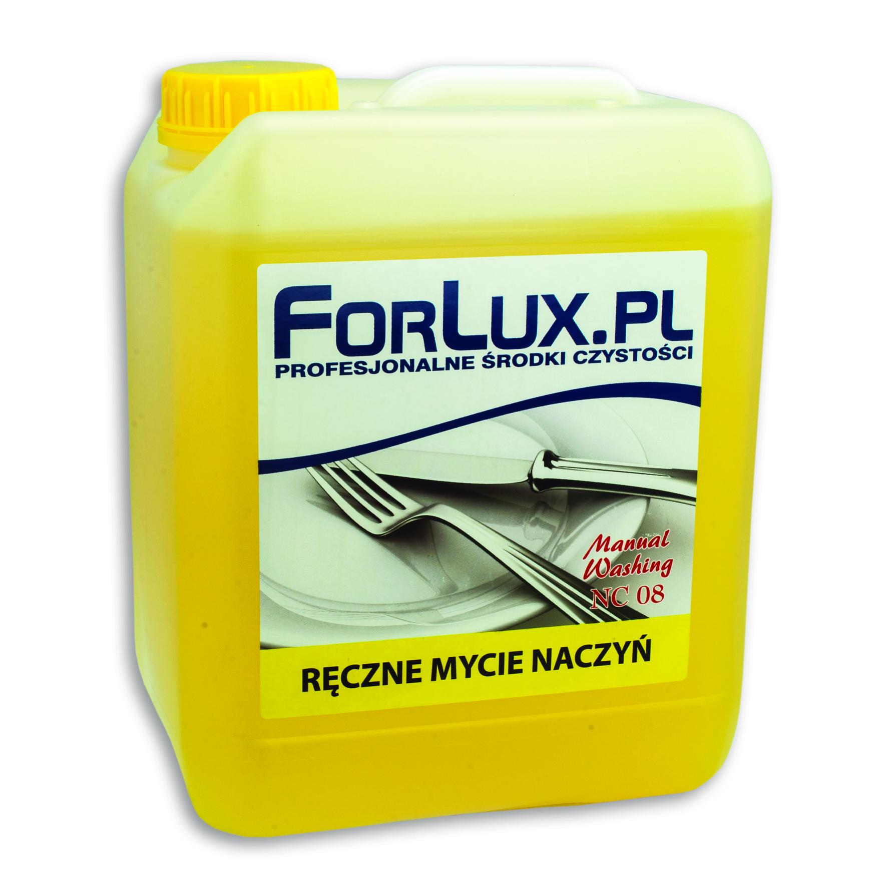 FORLUX NC 08 Preparat do ręcznego mycia naczyń