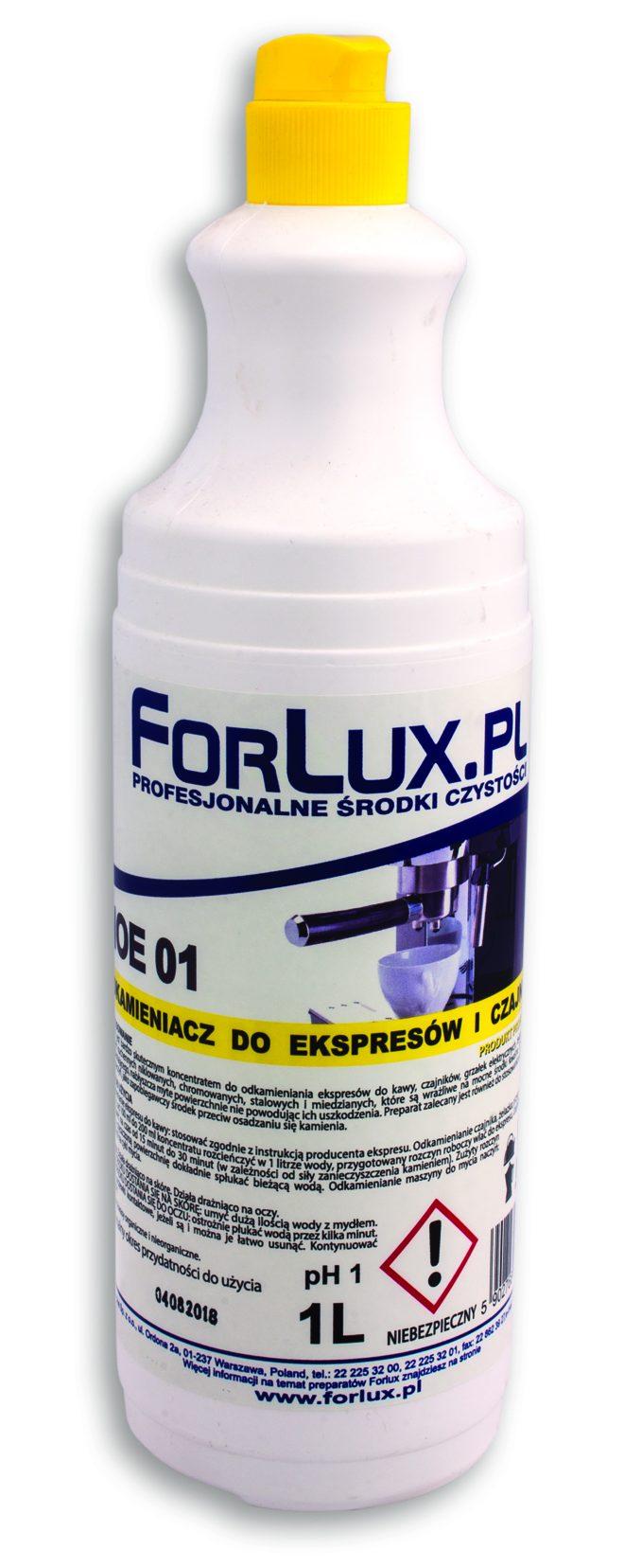 FORLUX NOE 01 Odkamieniacz do ekspresów i czajników