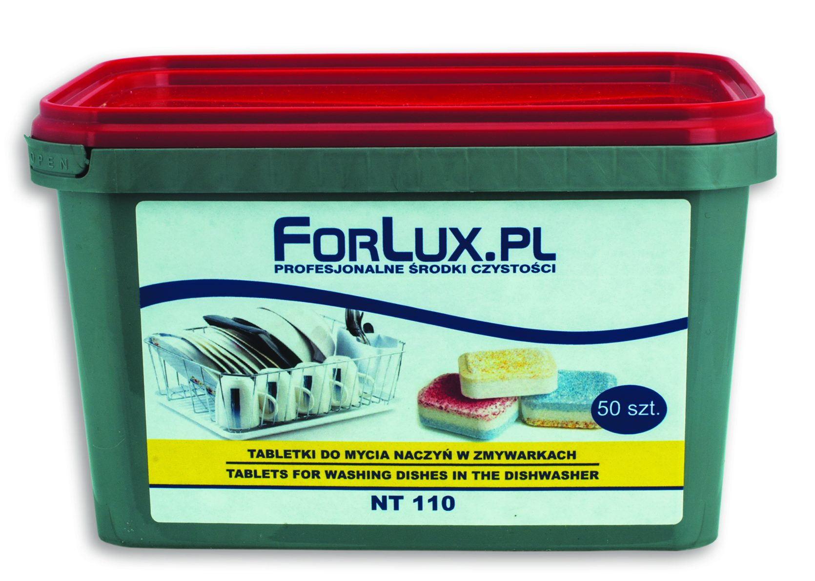 FORLUX NT 10 Tabletki do zmywarek