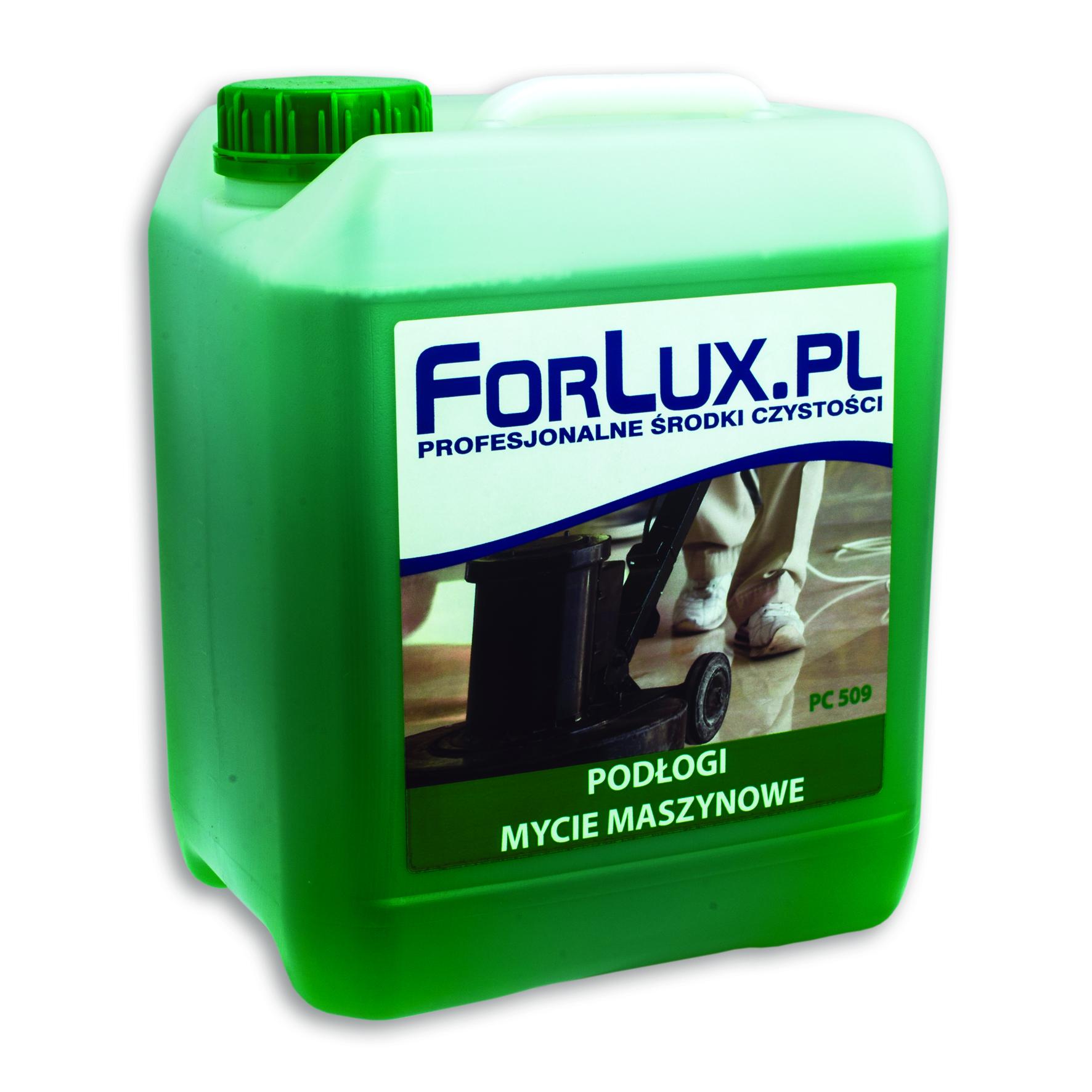 FORLUX PC 09 Maszynowe mycie podłóg