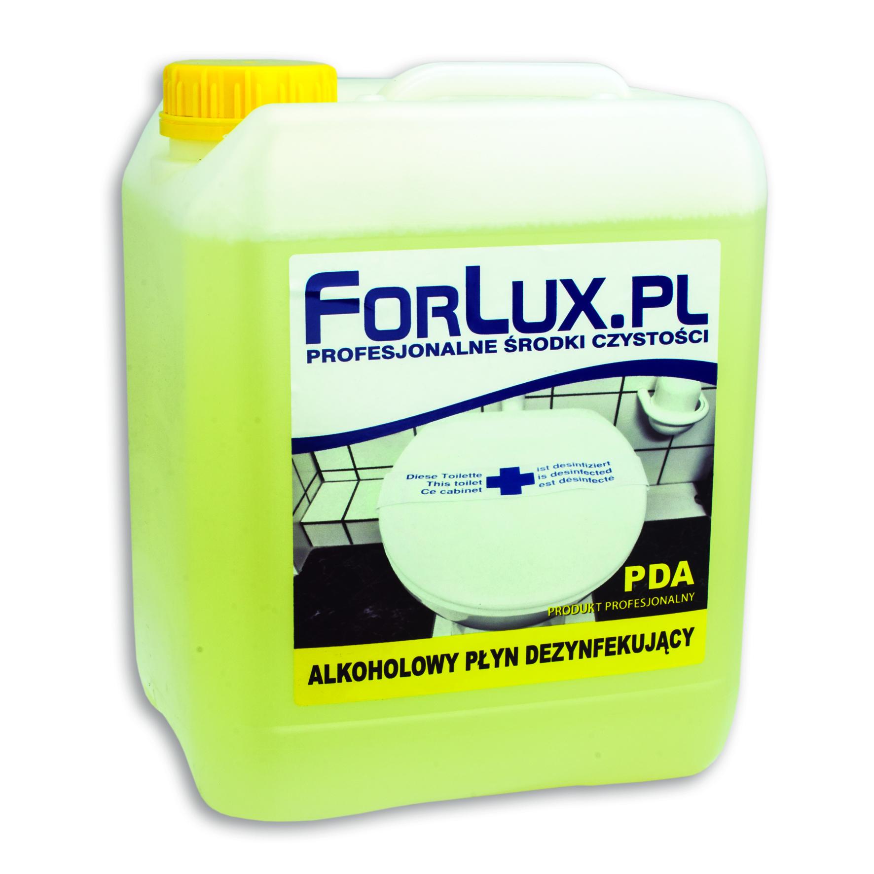 FORLUX PDA Alkoholowy płyn do szybkiej dezynfekcji