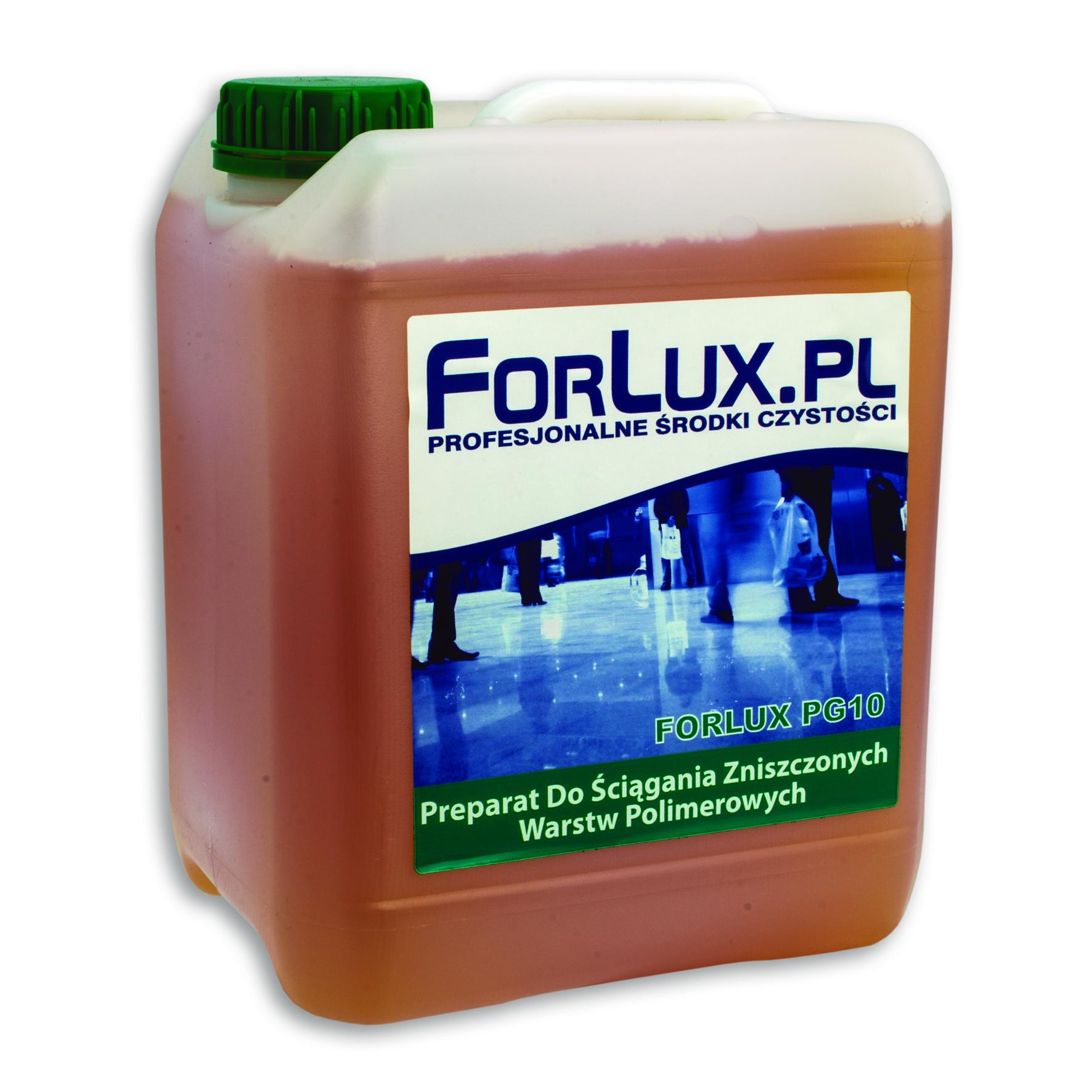 FORLUX PG 10 Ściąganie warstw polimerowych