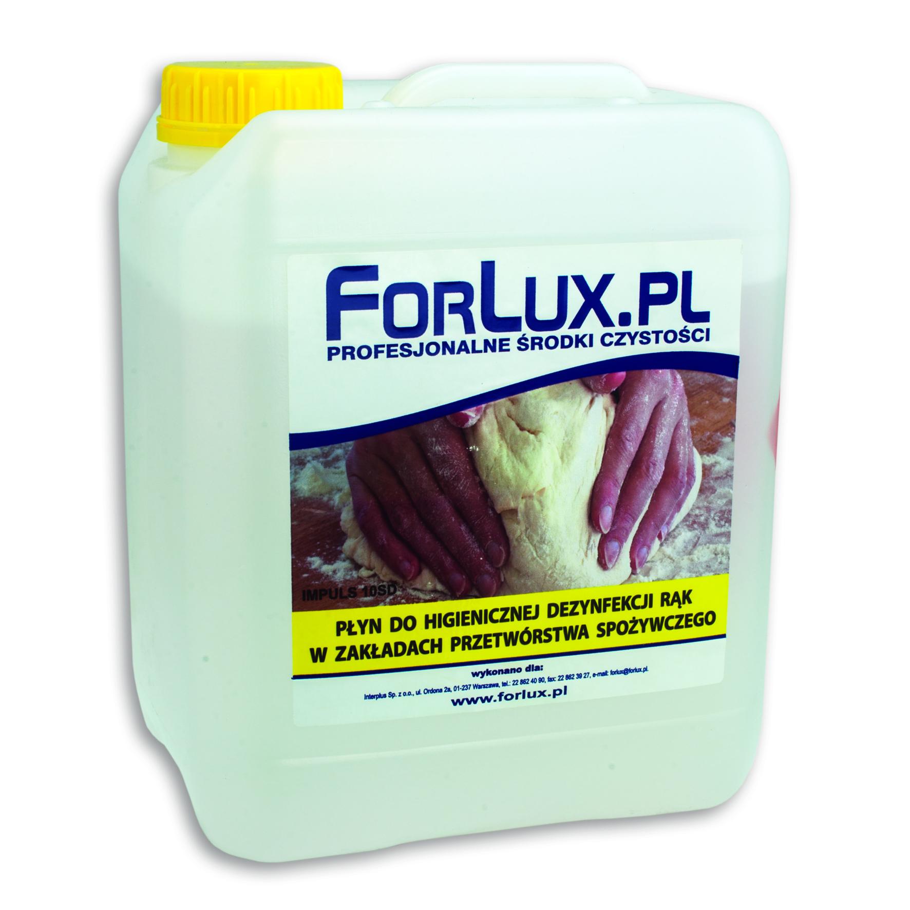 FOLRUX RDS Dezynfekcja rąk w przemyśle spożywczym