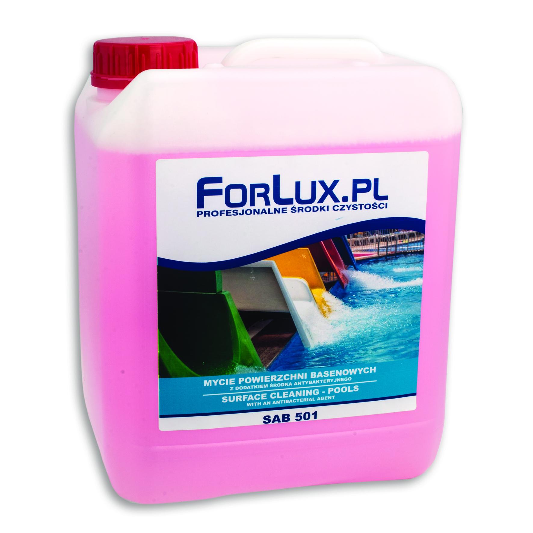 FORLUX SAB 501 Czyszczenie basenów