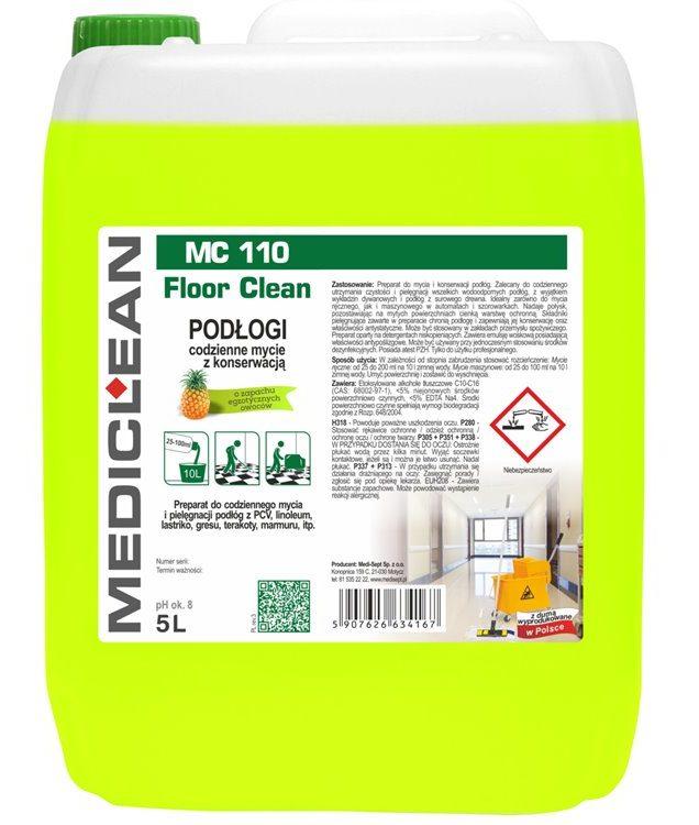 Mediclean MC 110 Floor Clean Mycie i konserwacja podłóg