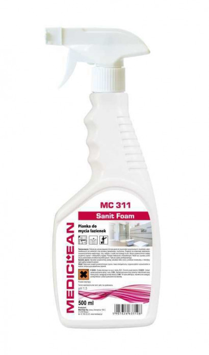 Mediclean MC 311 Sanit Foam Pianka do sanitariatów