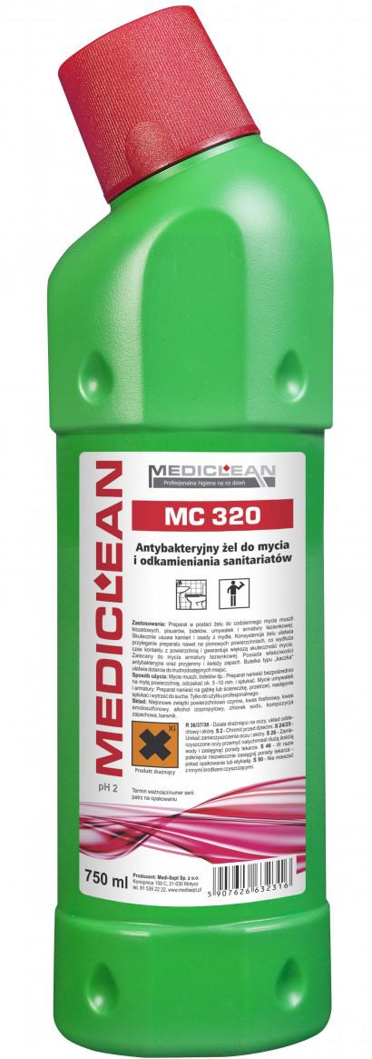 Mediclean MC 320 WC Clean Żel antybakteryjny