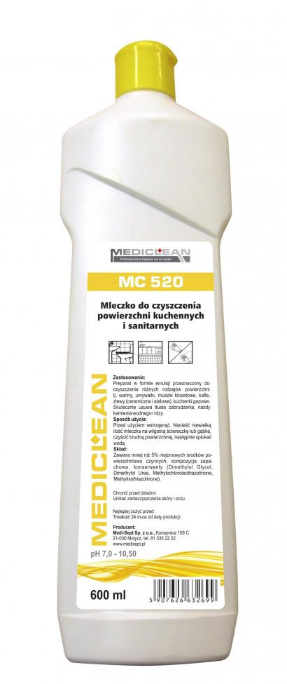 Mediclean MC 520 Mleczko do czyszczenia