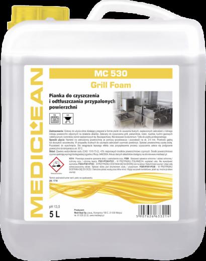 Mediclean MC 530 Grill Foam Pianka do czyszczenia przypalonych powierzchni