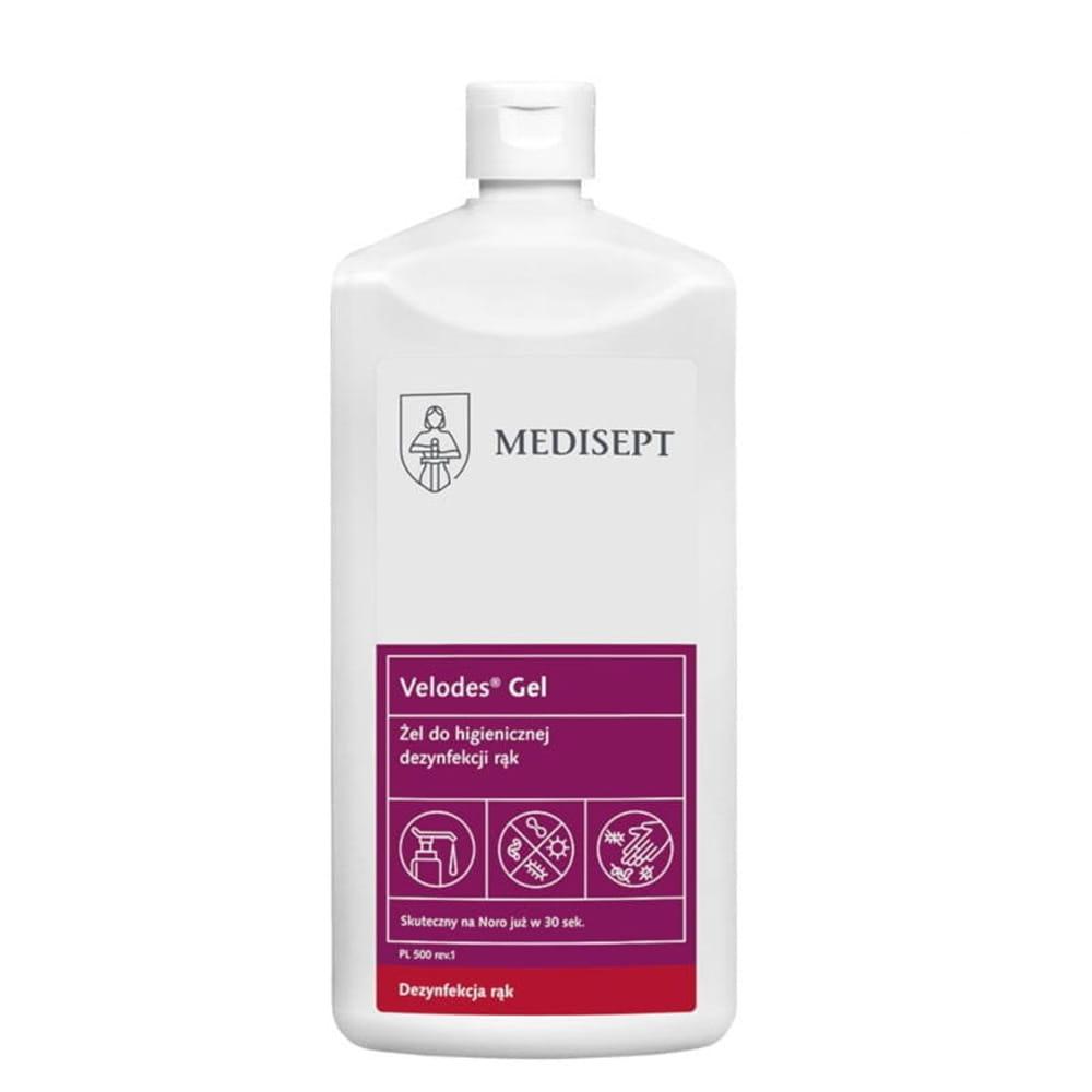 MEDISEPT VELODES GEL <br /> żel do higienicznej dezynfekcji rąk