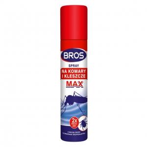 BROS MAX spray na komary i kleszcze