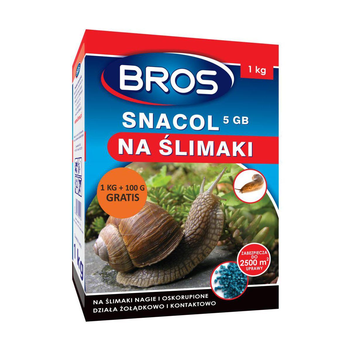 BROS Snacol na ślimaki