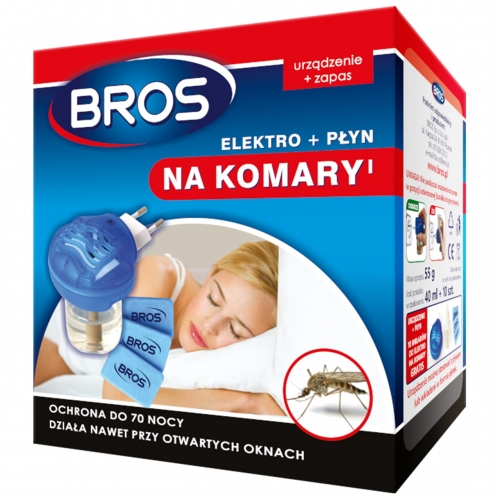 BROS urządzenie elektryczne na komary