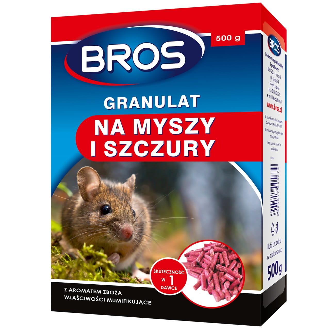 BROS granulat na myszy i szczury
