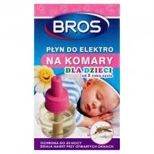 BROS płyn do urządzenia elektrycznego na komary dla dzieci