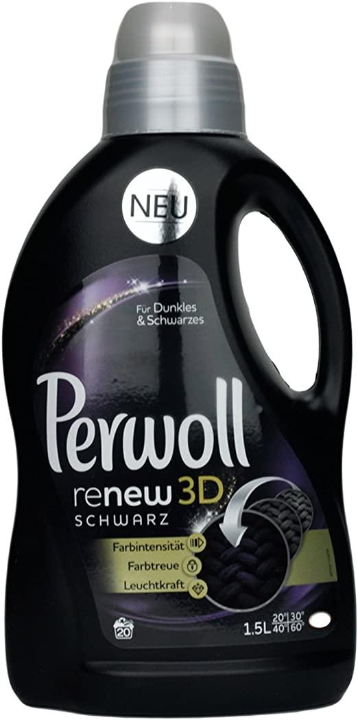 PERWOLL RENEW 3D BLACK EFFECT płyn do prania tkanin czarnych i ciemnych