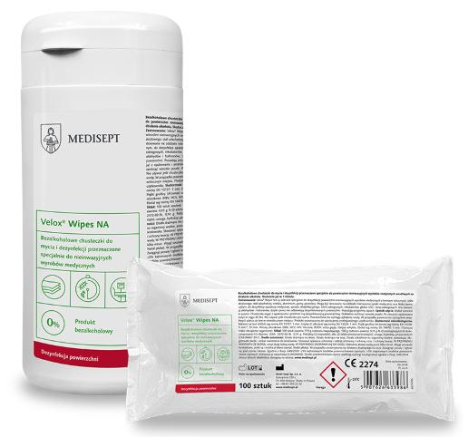 MEDISEPT WIPES NA<br /> chusteczki do mycia i dezynfekcji powierzchni