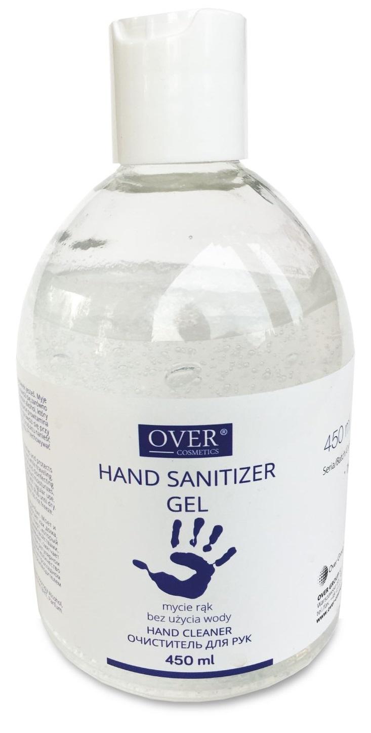 OVER <br /> żel dezynfekujący do mycia rąk