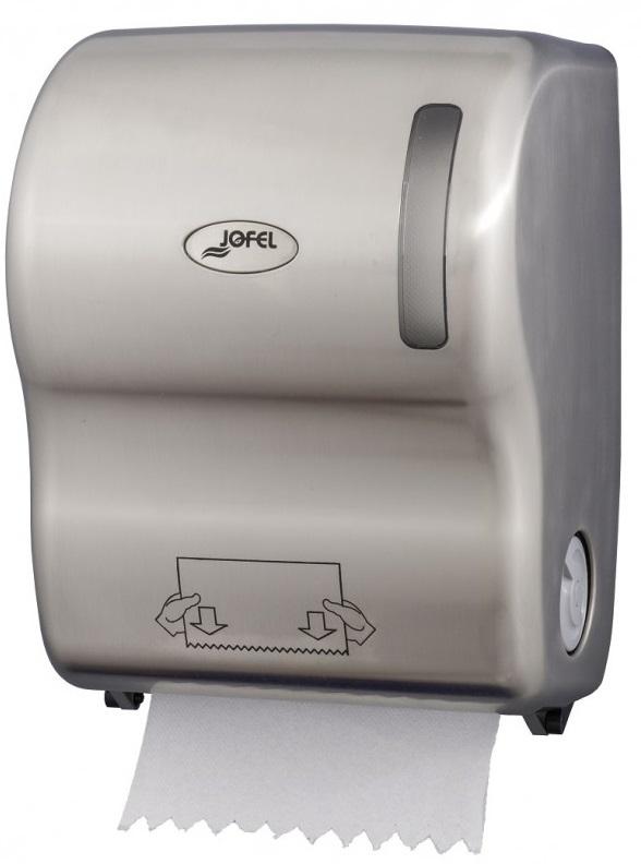 Podajnik automatyczny <br /> na ręczniki papierowe w roli <br /> (tworzywo ABS) <br /> NICKEL AUTOCUT
