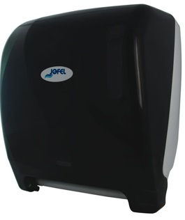 Podajnik automatyczny <br /> na ręczniki papierowe w roli <br /> (tworzywo ABS) <br /> FOTOKOMÓRKA CZARNY